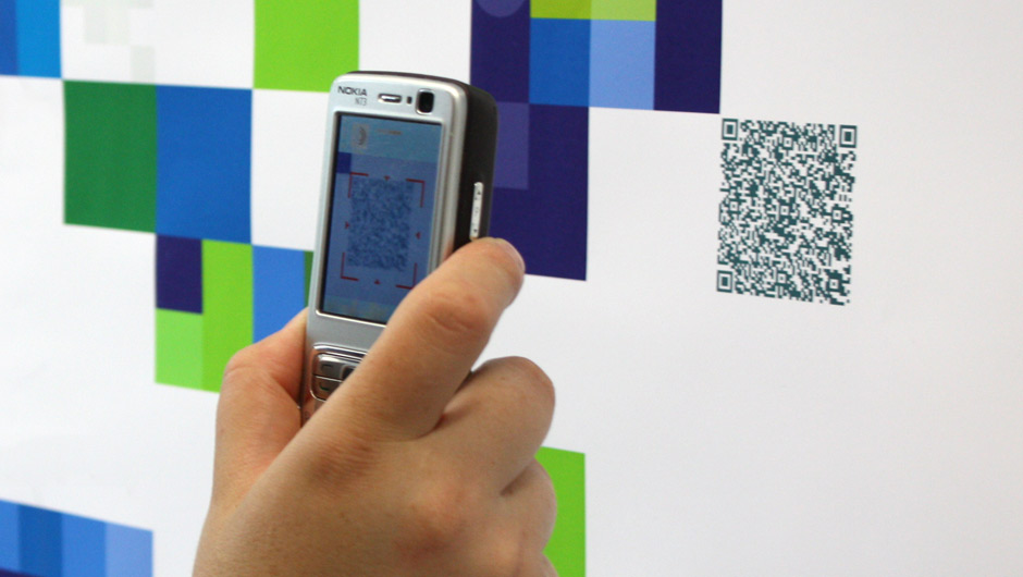 QR-Codes – the future of type